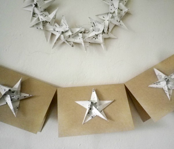 Made: DIY Origami Garlands, Christmas Wreath and Cards ... - photo#29