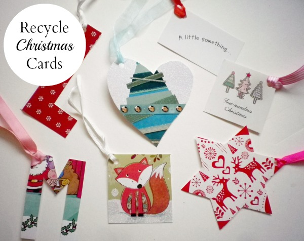 Guest Post: 5 Ways To Recycle Christmas Cards -