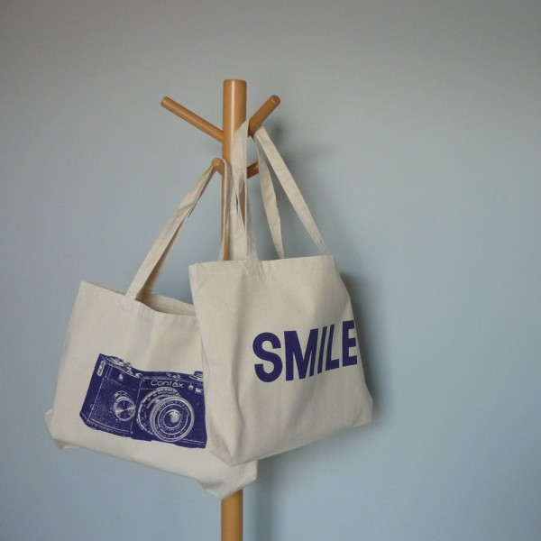 SMILE shopper bag