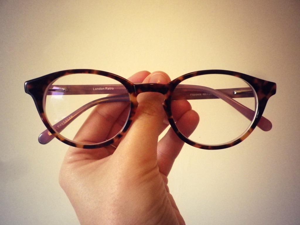 London Retro Glasses via Glasses Direct Mathilde heart ...