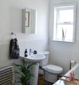 at home bathroom details mathilde heart manech