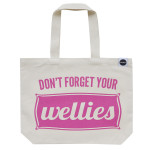 Tote of the Week: Don't Forget Your Wellies by Hey! Holla