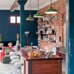 At Home: Exposed Brick Walls